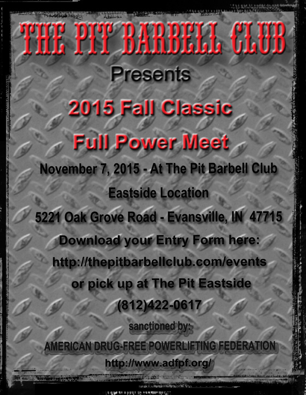 2015 fall classic full power meet 72